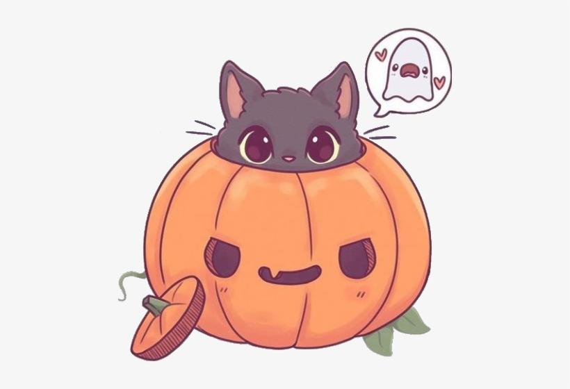Dibujos De Halloween Kawaii, transparent png #4206529
