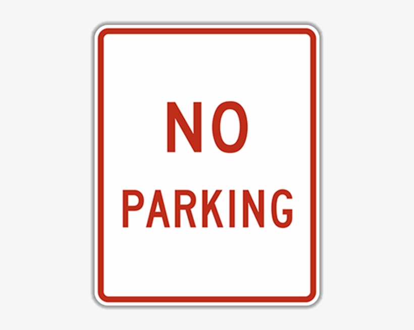 No Parking Sign Template from www.pngkey.com