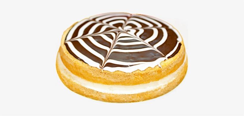 Conti's Pastry Shoppe - Boston Cream Pie, transparent png #4211843