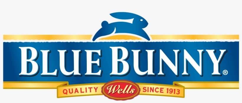 Blue Bunny Logo Blue Bunny Ice Cream Cups Free Transparent Png