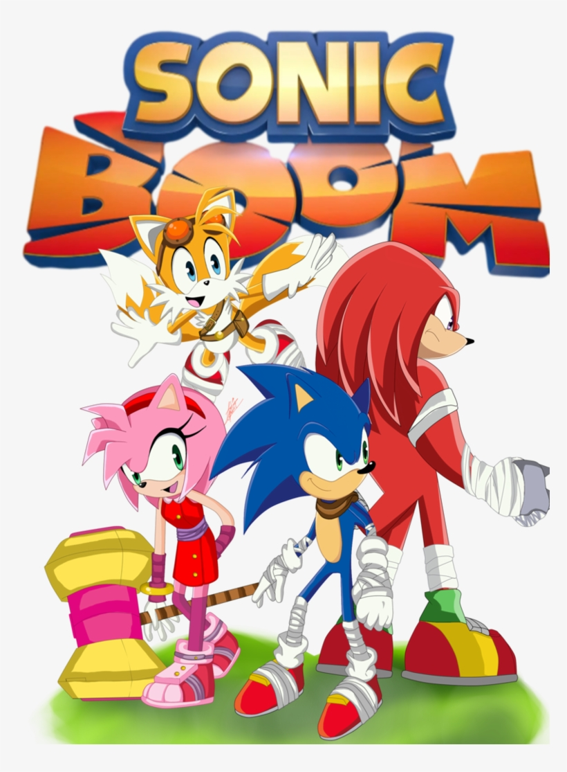 Sonic Boom Wallpapers - Sonic Boom Vol. 1: The Big Boom, transparent png #4213680