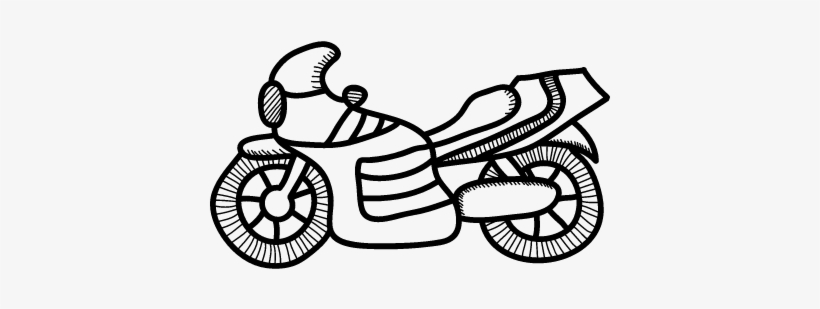 Motorcycle Vector Coloriage Garcon A Imprimer Free Transparent Png Download Pngkey