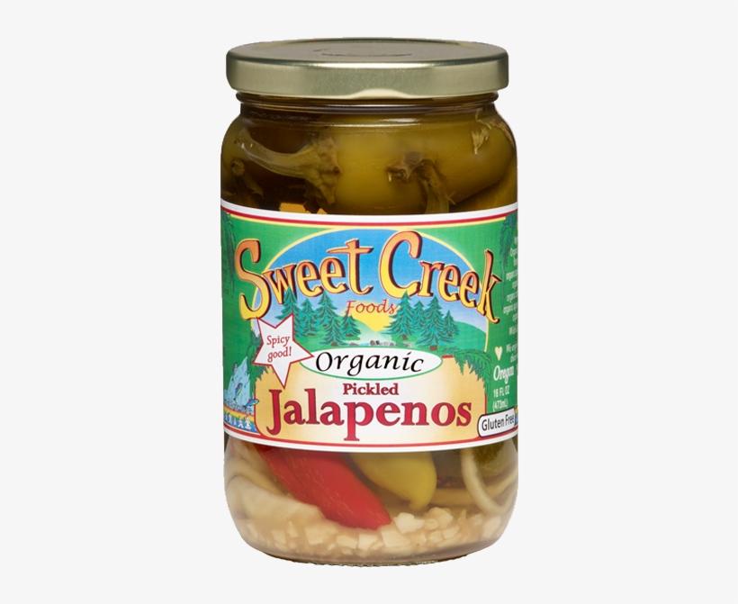 We - Pickled Jalapenos | Organic | 16 Oz | Sweet Creek Foods, transparent png #4227085