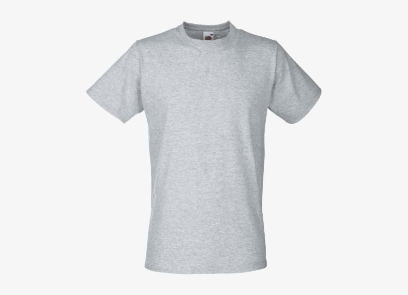 T Shirt Printing, T Shirt Printing Business, Fruit - Grey Tshirt Fruit Of The Loom, transparent png #4230196