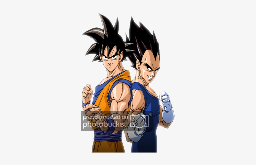 Download Goku And Vegeta Render Png Image With No Background