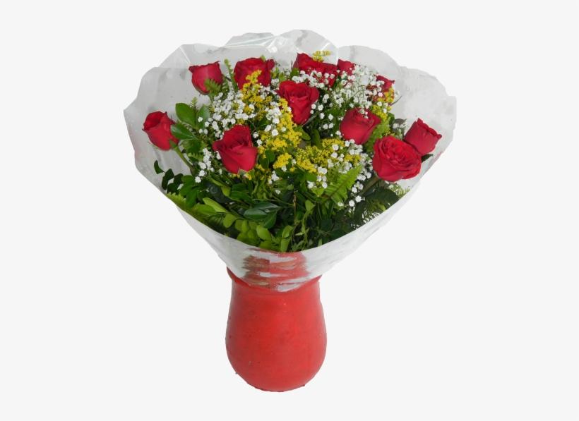 Buque De Flores Rosas Png