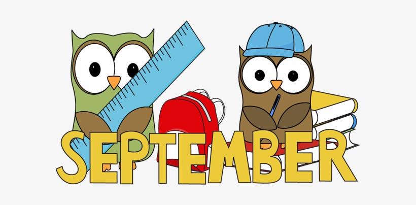 Back To School Clipart September - September School - Free Transparent PNG  Download - PNGkey