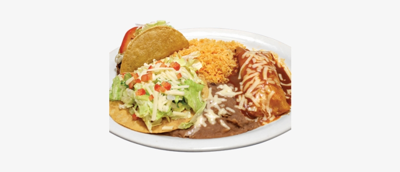 Your Choice Of Three Of The Following Items - Mexican Cuisine, transparent png #4234437