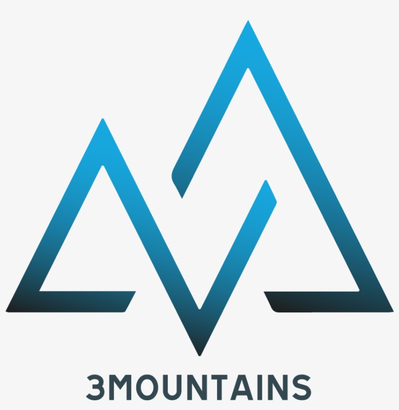3 Mountains Trading - Logo Designs Mountain, transparent png #4234668