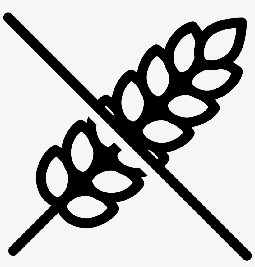 No Gluten Icon - Icone Gluten - Free Transparent PNG