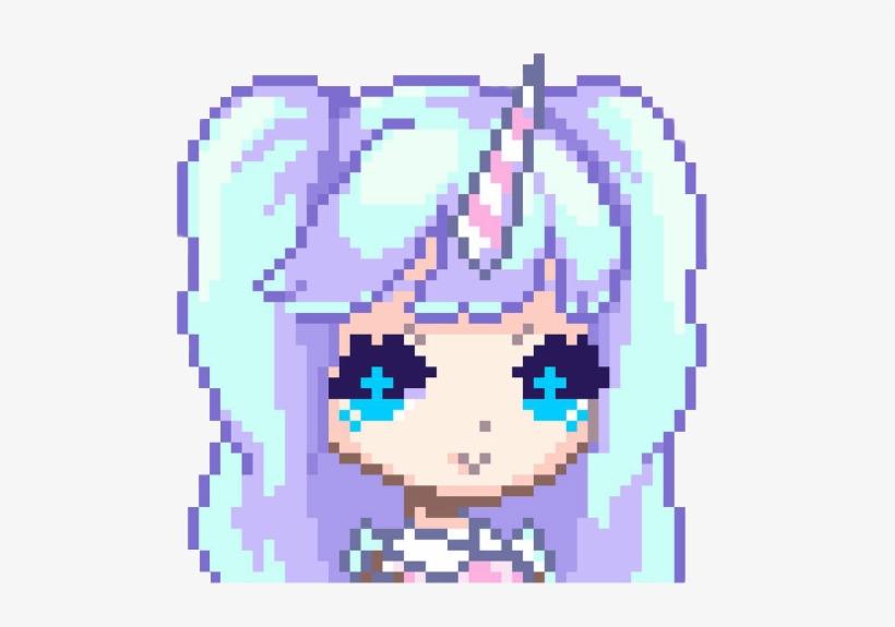 Cute Pixel Art Girl Free Transparent Png Download Pngkey