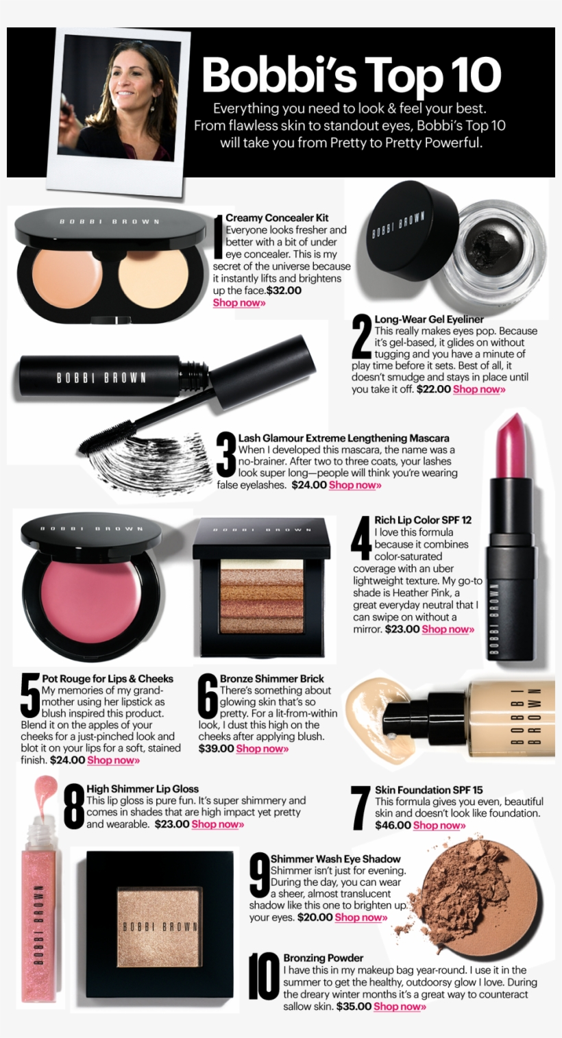 #office #looks #makeup #bobbibrown #top10 #concealer - Bobbi Brown Top Product, transparent png #4237227