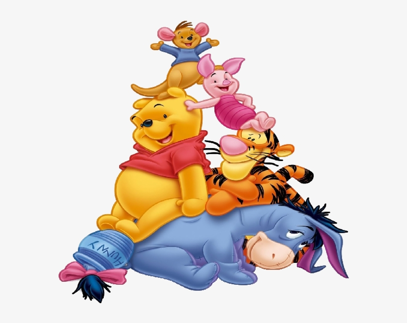 Holiday Clipart Winnie The Pooh Winnie The Pooh And Friends Png Free Transparent Png Download Pngkey