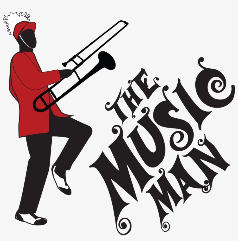 28 Collection Of Music Man Clipart - Music Man, transparent png #4251949
