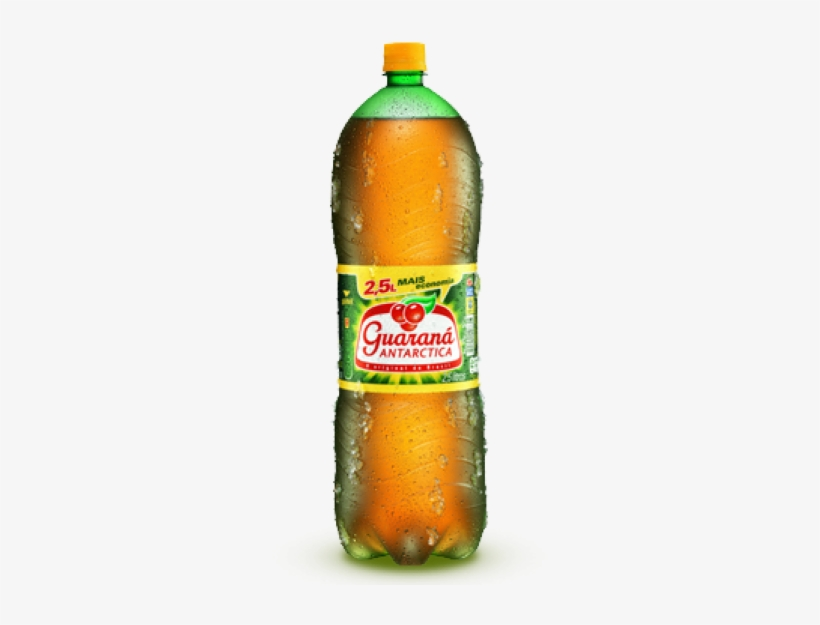 Refrigerante Guaraná Antarctica Pet 2,5 L - Guarana Antarctica, transparent png #4253183