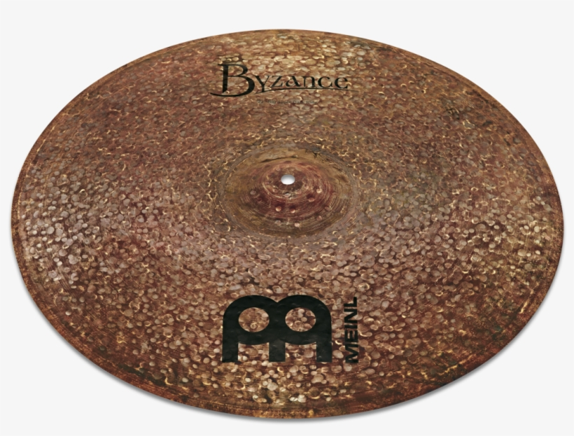 "Byzance Dark Big Apple Dark Ride 22"" - Meinl 22"" Byzance Dark Big Apple Ride Cymbal, transparent png #4253756"