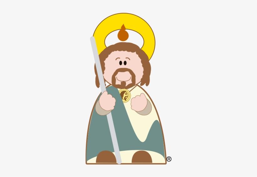 San Judas Tadeo San Judas Animado Png Free Transparent Png
