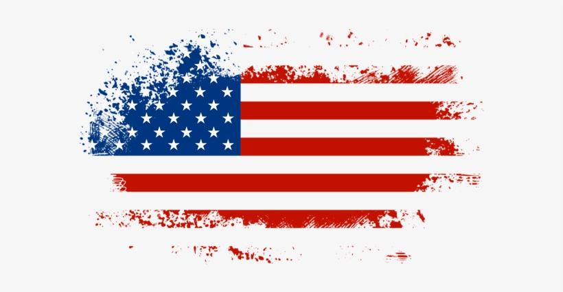 Imágenes De Banderas De Los Estados Unidos De Norteamércia - 4th Of July Png, transparent png #4256960