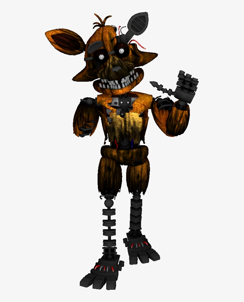 Imágenes De Phantom Foxy Free Transparent Png Download Pngkey