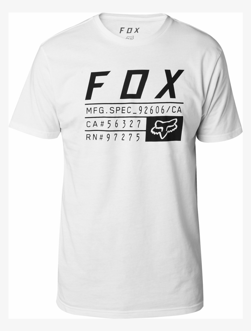 d769a9708 Camiseta Tech Fox Abyssmal Blanca - Fox Racing - Free Transparent ...