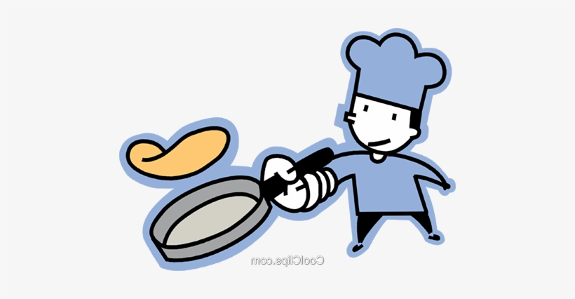 Pin Flipping Pancake Clipart - January 30, transparent png #4263998