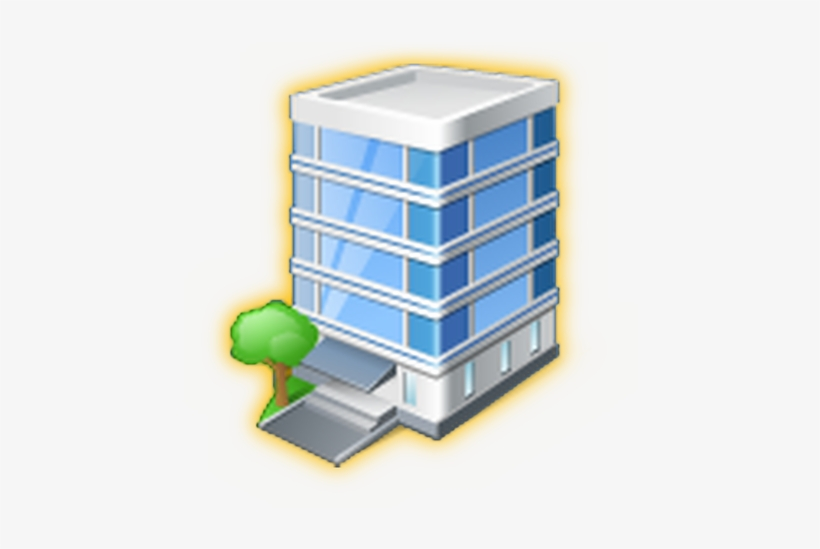 Predio 3 - Office Building Icon, transparent png #4264974