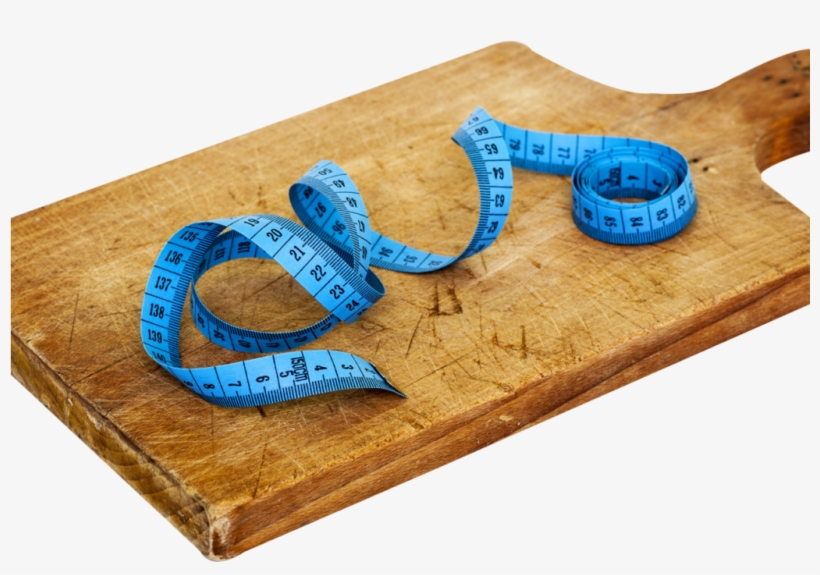 Cutting Board And Tape Measure Png Image - Great 3 Diet - Book, transparent png #4265226