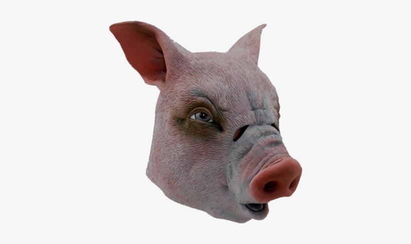 Orlob Vollkopfmaske Schwein Karneval Fasching Maske Free