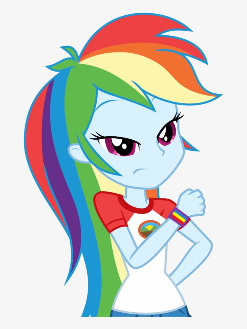 Absurd Res, Artist - Mlp Legend Of Everfree Rainbow Dash, transparent png #4267258