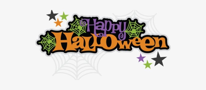 Happy Halloween - Happy Halloween Logo Png, transparent png #4268262