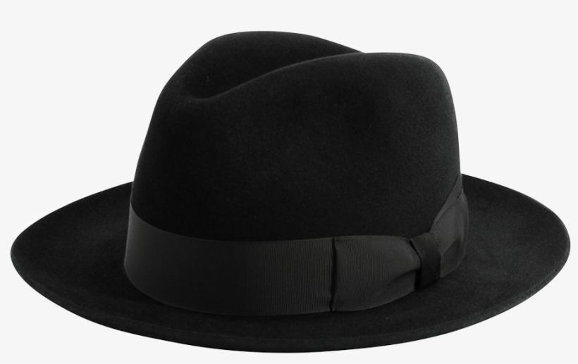 42578cee7e1 'shirwell' Luxury Handmade Fur Felt Fedora Black - Women's Hats. '