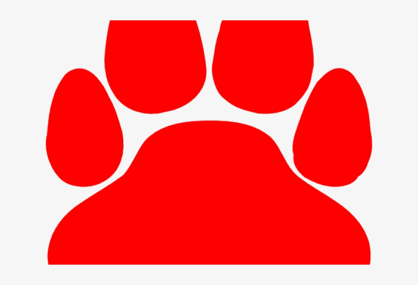 Cat Paw Print Graphic - Lacey Township High School Logo, transparent png #4272983