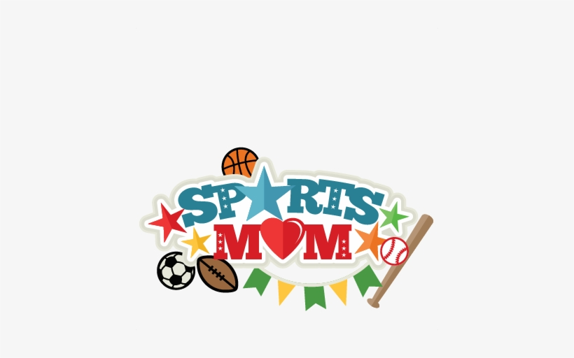 Sports Mom Title Svg Scrapbook Cut File Cute Clipart - Scalable Vector Graphics, transparent png #4274514