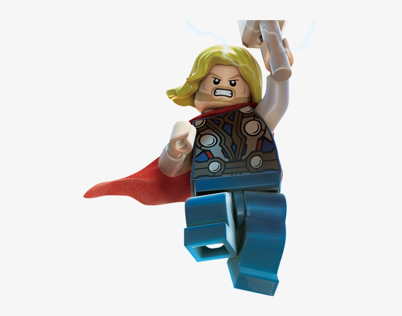 Lego Marvel Super Heroes Lego Marvel Super Heroes Thor - Lego Marvel Super Heroes Thor, transparent png #4274537