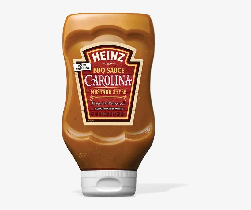 Carolina Mustard Style - Heinz Bbq Sauce Carolina Mustard Style, transparent png #4278948