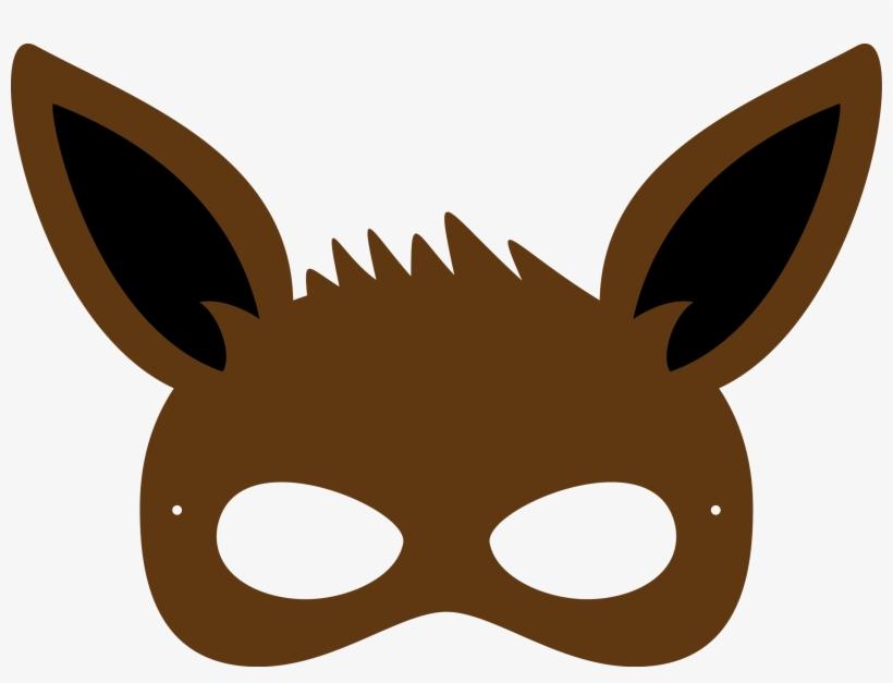 Molde De Mascara Infantil Para Imprimir Pokemon Masks To Print