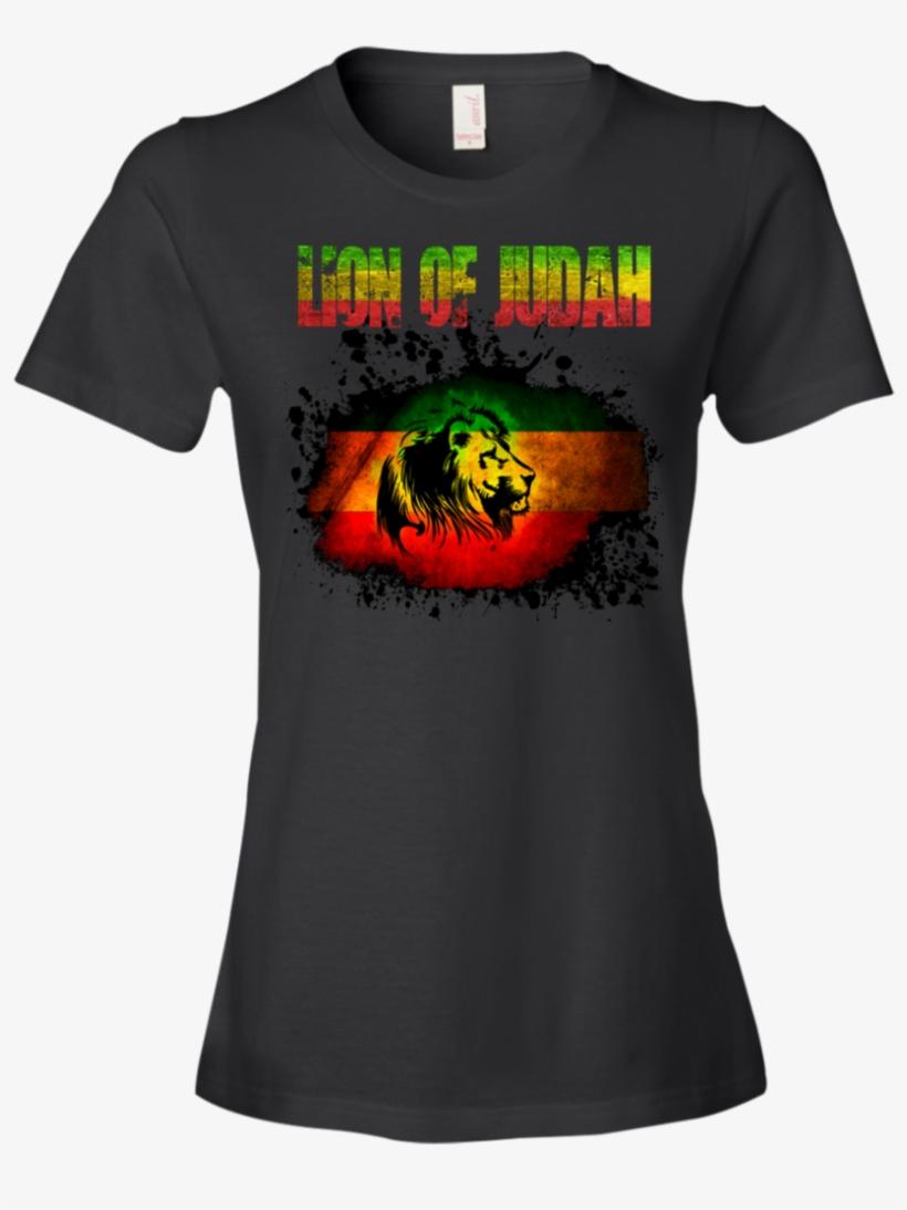 Women T-shirts Lion Of Judah - Rasta Bible: For Success & Prosperity, transparent png #4283955