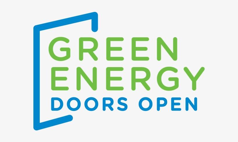 Green Energy Doors Open - Green Energy Doors Open Logo, transparent png #4284660