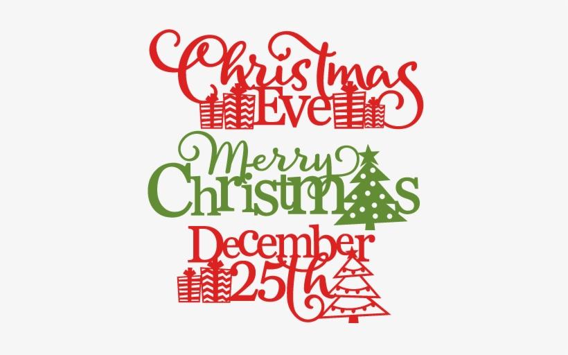 Christmas Phrases Svg Scrapbook Cut File Cute Clipart - Scrapbooking, transparent png #4292462