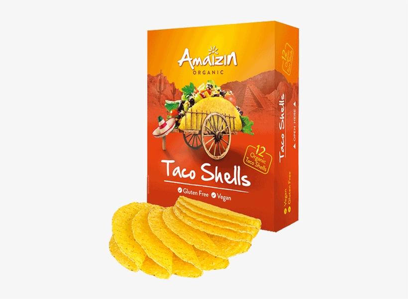 Organic Taco Shells - Amaizin Organic Taco Shells, transparent png #4294711