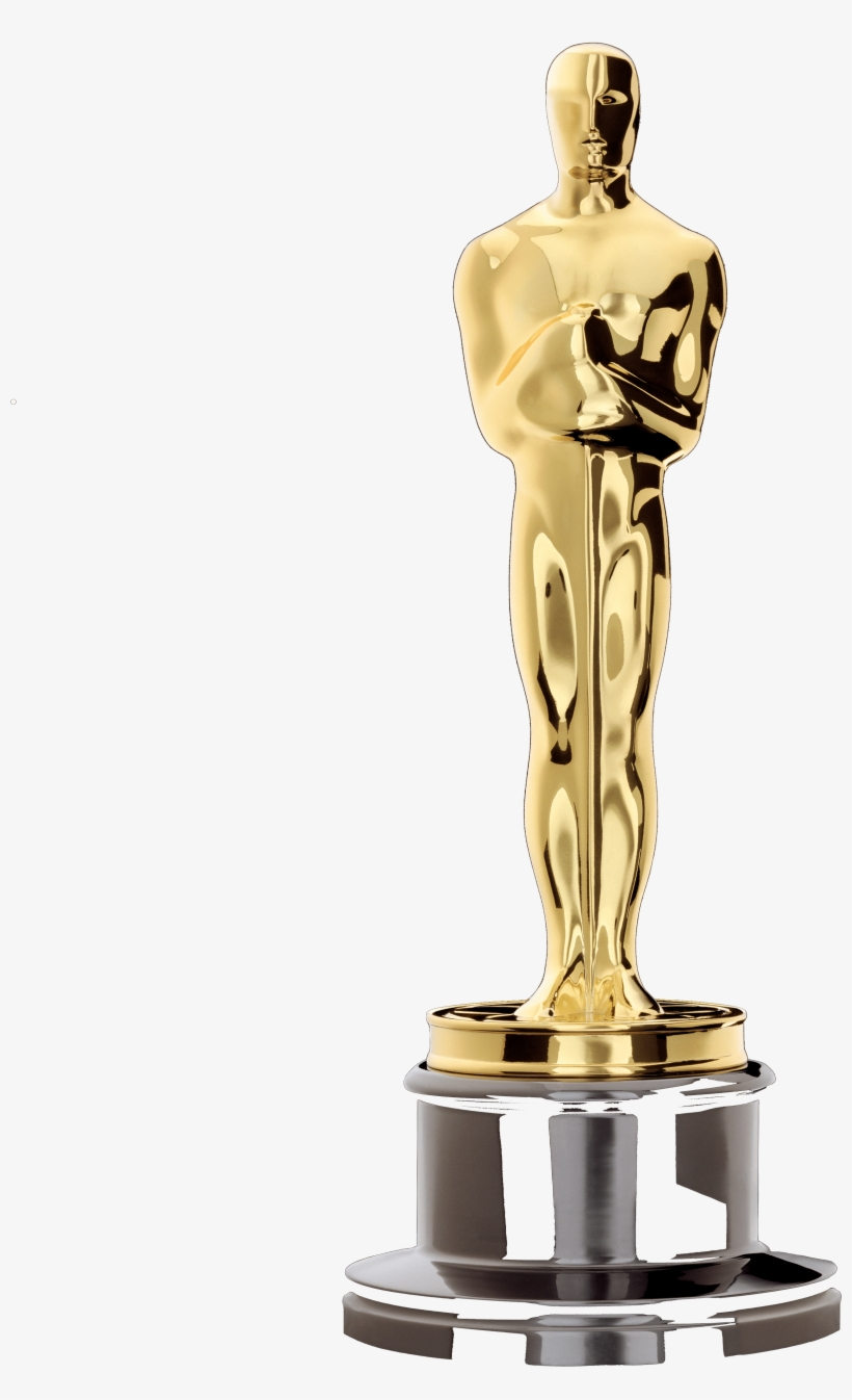 The Collegian Competing For 'best Picture' Oscar Award - Oscar Statue, transparent png #4294733