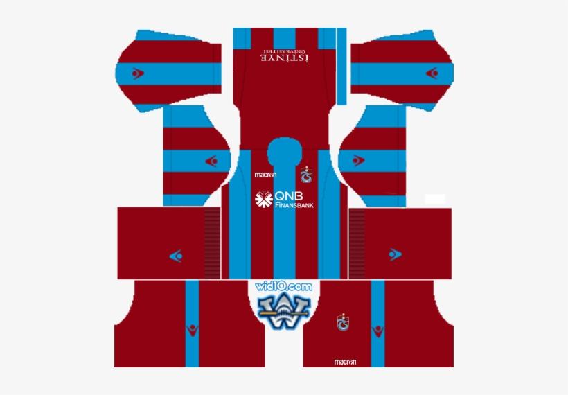 Trabzonspor Dream League Soccer Fts 2019 Forma Logo - Dream League Soccer Kits France 2018, transparent png #4298729