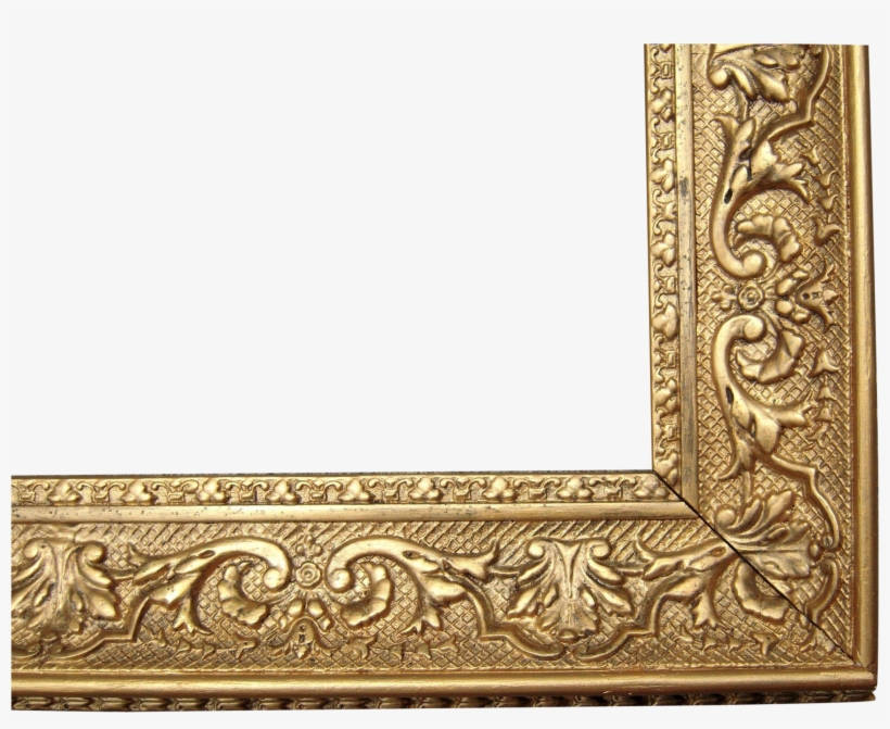 Large Picture Frames Beautiful Ornate Gold Antique - Gold Antique Transparent Picture Frame, transparent png #430075