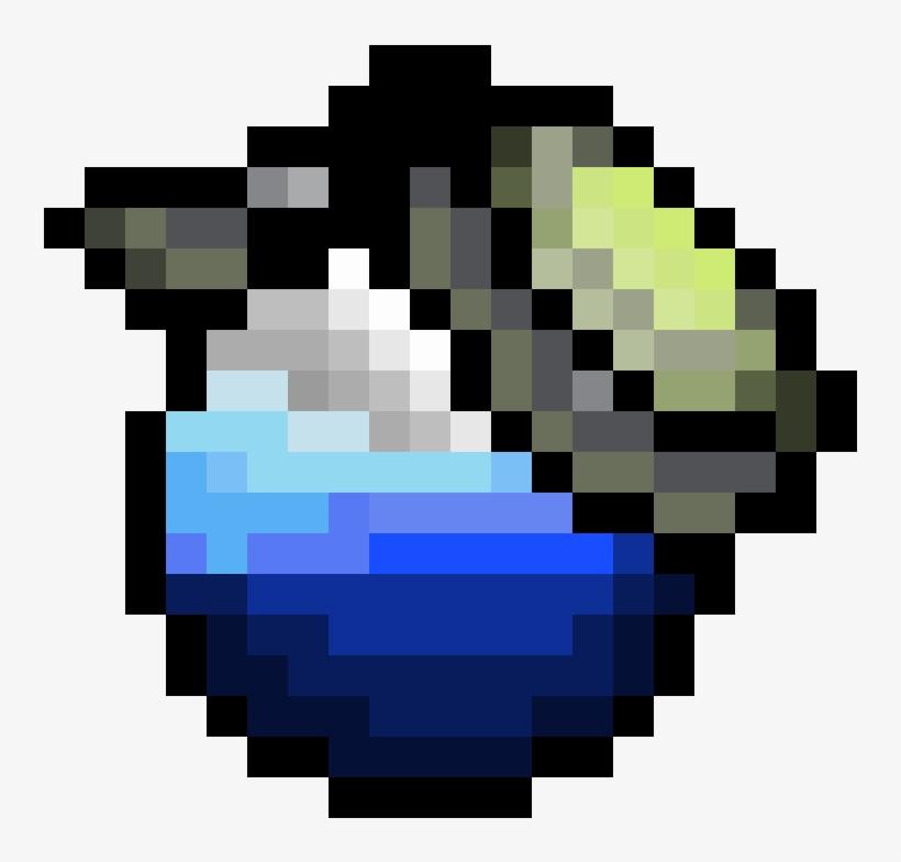 Fortnite Shield Potion Llama Fortnite Pixel Art Free