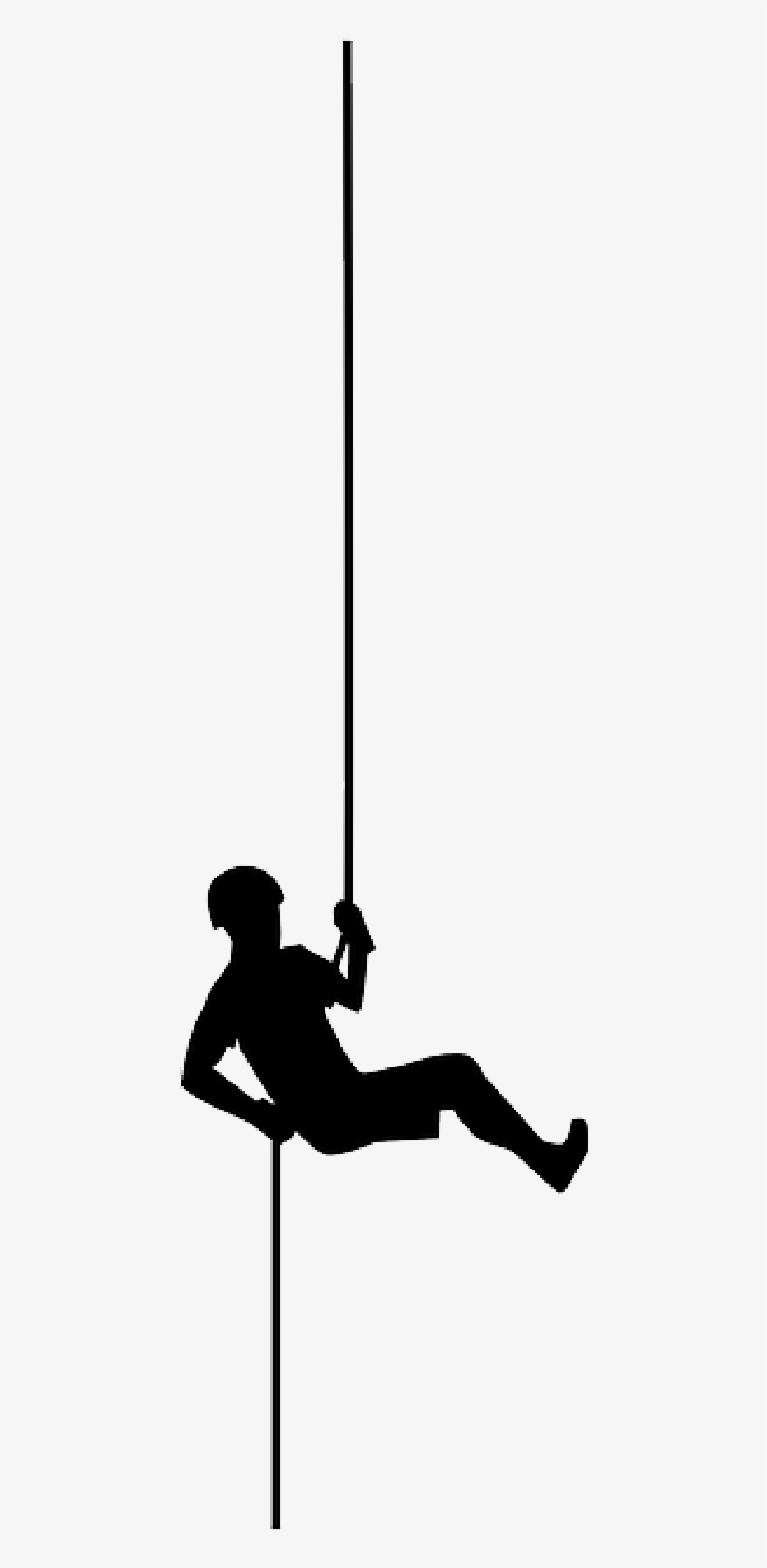 Mb Image/png - Rappelling Silhouette Png, transparent png #431526