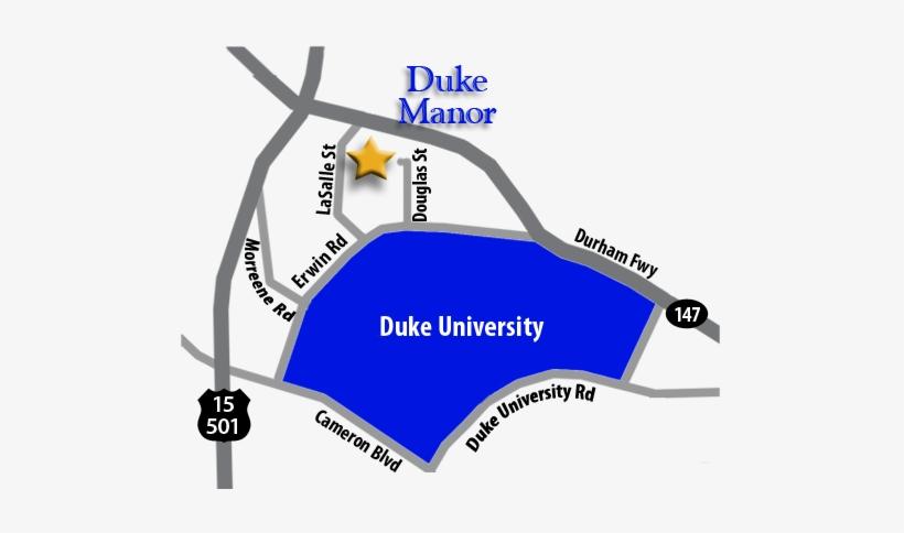 Directions From Duke Manor To Duke University - Duke University Apartments, transparent png #432272