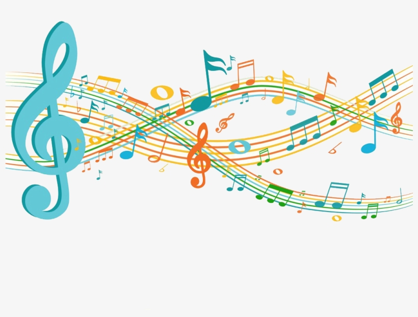 Musical Note Sheet Clip - Music Clip Art Png, transparent png #432488