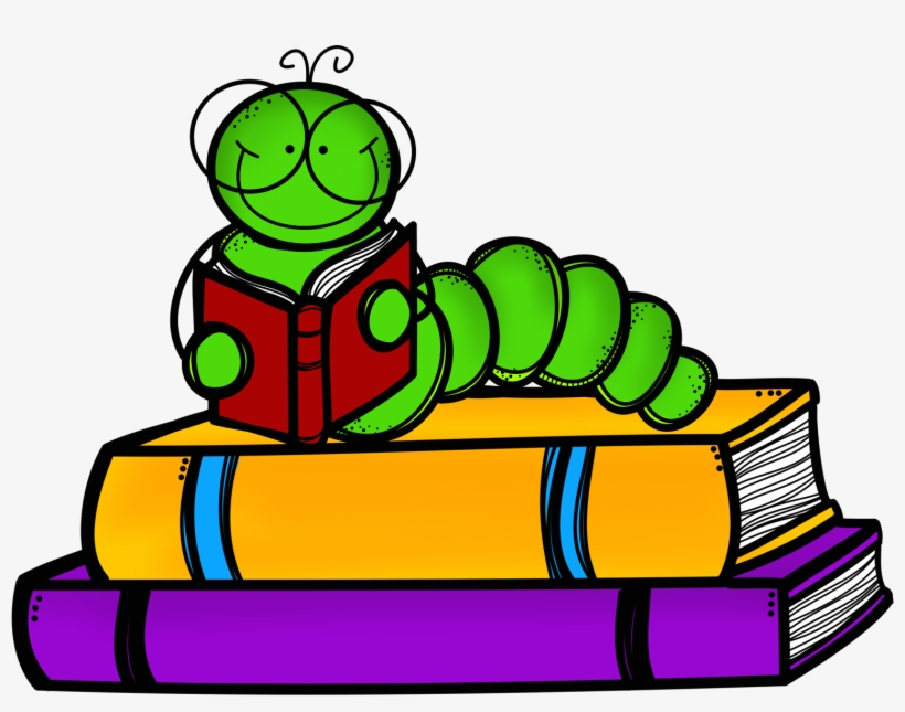 Book Worm Images Free Download Clip Art - Books Clip Art - Free Transparent PNG Download - PNGkey
