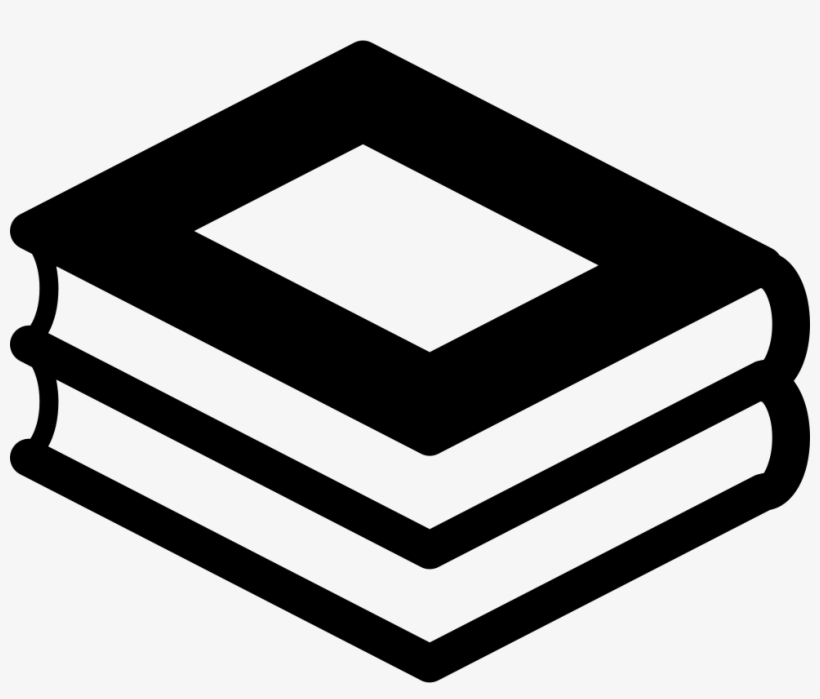 Stack Of Two Books Comments - Stacked Books Icon Transparent, transparent png #432949