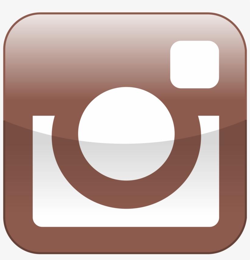 2000px Instagram Shiny - Instagram Icon Shiny, transparent png #433015